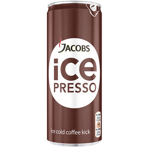 Jacobs Icepresso Classic, Kaffee mit Magermilch, Dose