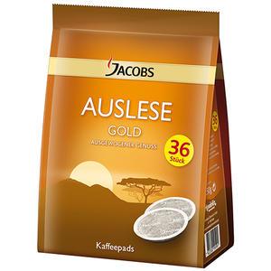 Jacobs Auslese Gold Kaffee-Pads, 36 Portionen