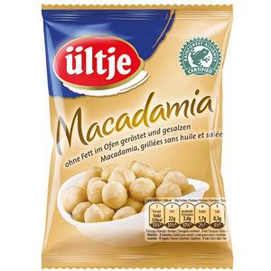 Ültje Macadamia, ohne Fett im Ofen geröstet/gesalzen