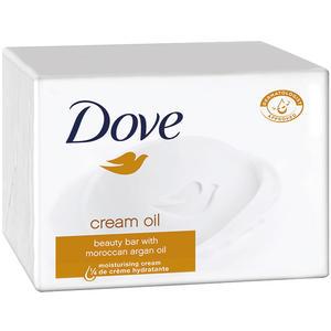 Dove Cream Oil Beauty Bar Seife mit Argan-Öl