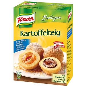 Knorr Beilagen Kartoffelteig (für 2 x 10 Obstknödel oder 2 x 5 Fleischknödel)
