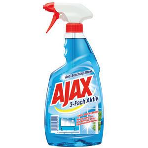 Ajax Glasreiniger 3-fach aktiv, 100 % Streifenfrei, Pumpe
