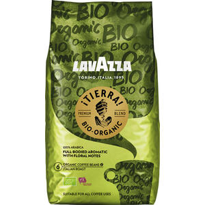 Lavazza ¡Tierra! Organic, Bio-Kaffee, Ganze Bohne