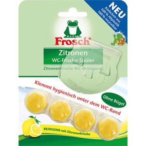 Frosch WC-Frische-Spüler Zitronen BIO, WC-Stein ohne Bügel
