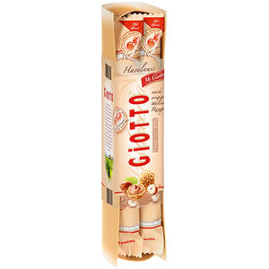 Ferrero Giotto Haselnuss, 4er Packung, 36 Stück