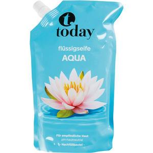 today Flüssigseife Aqua, Nachfüllbeutel (ohne Pumpe)
