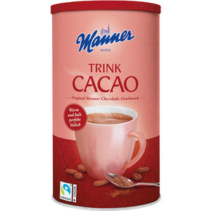 Manner Trink Cacao Fairtrade