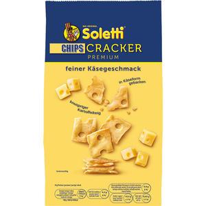 Soletti Cracker CHIPS Premium, mit Käsegeschmack