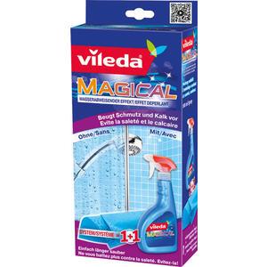Vileda Magical 1+1 System, Spray & Tuch für die Badreinigung