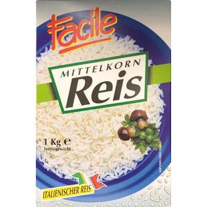 Facile Mittelkorn-Reis aus Italien