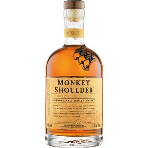 Monkey Shoulder Blended Malt Scotch Whisky, 40 % Vol.Alk., Schottland