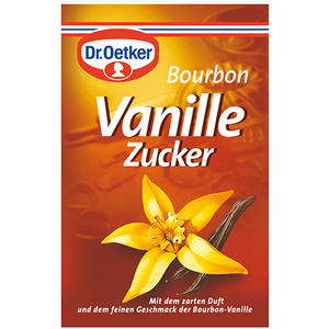 Dr. Oetker Bourbon-Vanillezucker, 3er Packung