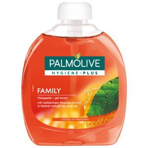 Palmolive Hygiene-Plus Family, vor Bakterien schützende Flüssigseife, Nachfüllflasche (ohne Pumpe)