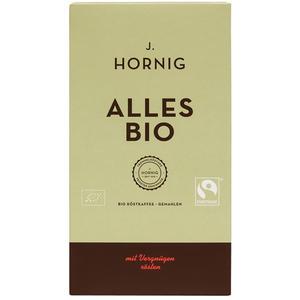J.Hornig Fairtrade Alles Bio, Bio-Röstkaffee, gemahlen