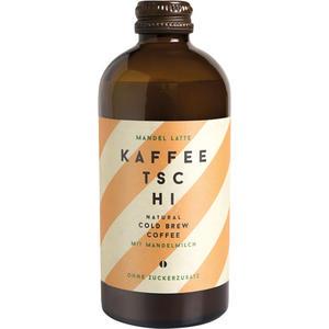 Kaffeetschi Mandel Latte, Natural Cold Brew Coffee mit Mandelmilch, ohne Zuckerzusatz, Glasflasche