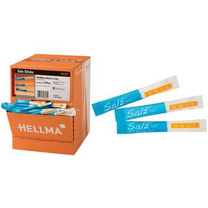 Hellma Salzsticks, 750 Sticks à 1 g, Display-Karton