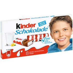 Ferrero Kinder Schokolade, 8 Riegel
