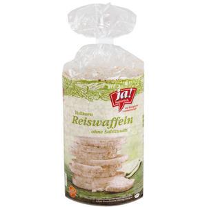 ja! Natürlich. Bio Vollkorn-Reiswaffeln ohne Salzzusatz