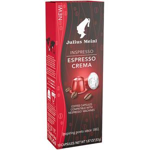 Julius Meinl Inspresso Espresso Crema 8, Nespresso-kompatibel, 10 Kaffeekapseln