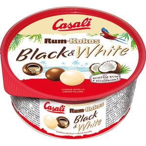 Casali Rum-Kokos Dragees Black & White