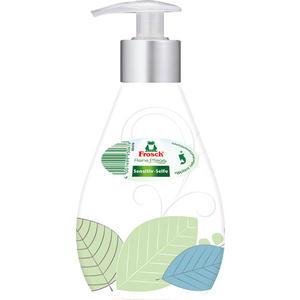 Frosch Reine Pflege Sensitiv-Seife, Designflasche, Original (Pumpe)