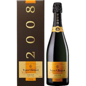 Veuve Clicquot Vintage Brut Champagne, im Geschenkkarton