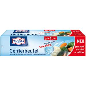Toppits Gefrierbeutel 3 Liter