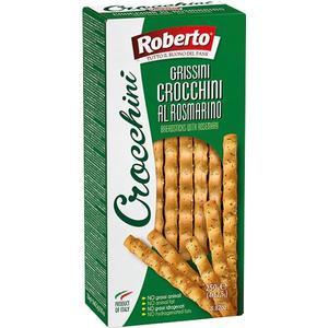Roberto Crocchini Grissini al Rosmarino, 4 Frischepacks à 62,5 g