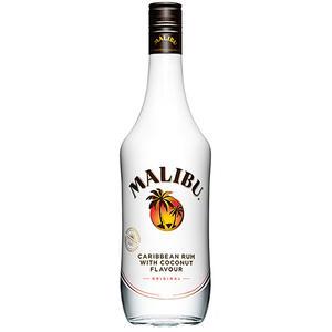 Malibu Original, Caribbean Rum with Coconut Flavour, 21 % Vol.Alk.