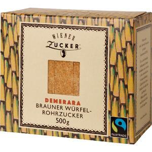 Wiener Zucker Fairtrade Brauner Würfel-Rohrzucker