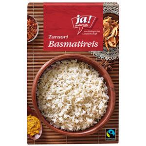 Fairtrade Ja! Natürlich. Bio Taraori Basmati-Reis