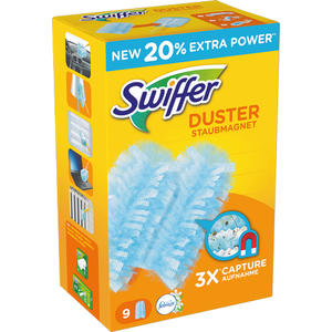 Swiffer Staubmagnet mit Febreze Staubfang-Tücher, Nachfüll-Pack