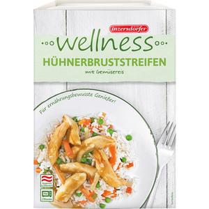Inzersdorfer Wellness Hühnerbruststreifen mit Gemüsereis