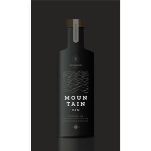 Kaufmann Spirits, Mountain Gin 500 ml