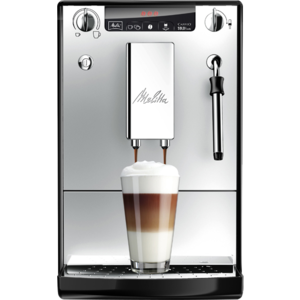 Melitta Kaffeevollautomat Caffeo® Solo® & Milk, schwarz-silber - Herst. Art. Nr.: E 953-102