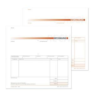 Rechnungen OF 33 - 21x20cm, 3-fach, 40 Garnituren/Pack SD