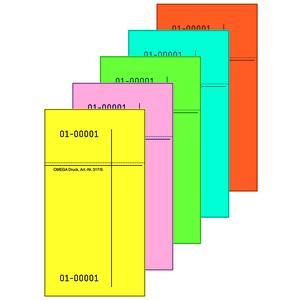 Kellnerblock 317 S/7 farblich sortiert, 10er Pack