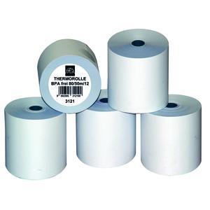 Thermorollen 80/50m/12mm, BPA-Frei, 10VE á 5Rollen (=50R)