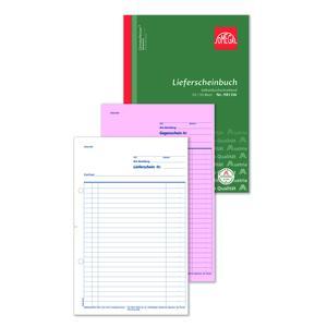 Lieferscheinbuch 981OK, 5 Stk. (=1VE) DIN A4 hoch 2x50Blatt SD