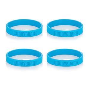 BUDDYGUARD® Anti-Insekten Band 4er Set Blau