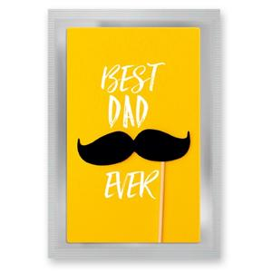 "Teepostkarte ""Best Dad"""