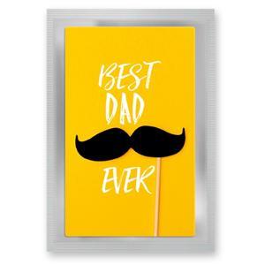 """Teepostkarte """"Best Dad"""""""