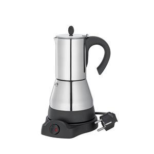 "Espressokocher ""Lisboa"", (elektrisch / 4 Tassen / Edelstahl)"
