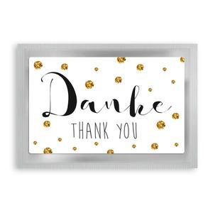 """Teepostkarte""""Danke"""""""