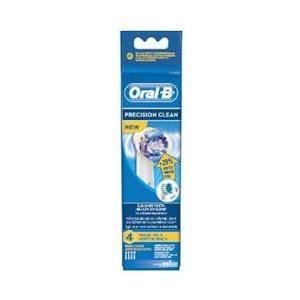 Oral-B Aufsteckbürsten Precision Clean 4er Ersatzzahnbürsten