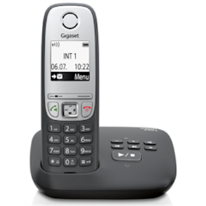 A 415 A schwarz Schnurloses Telefon + AB S30852-H2431-C101