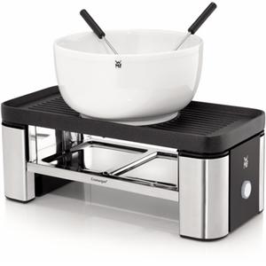 KÜCHENminis Raclette für zwei cromargan matt Raclette