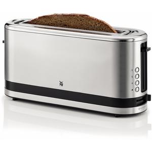 KÜCHENminis Langschlitz-Toaster cromargan matt Toaster