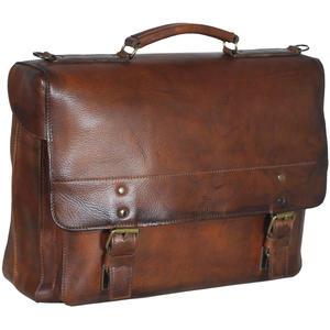 Jost Randers Businesstasche 1F - Farbe: cognac