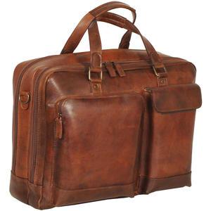 Jost Randers Businesstasche 2F - Farbe: cognac